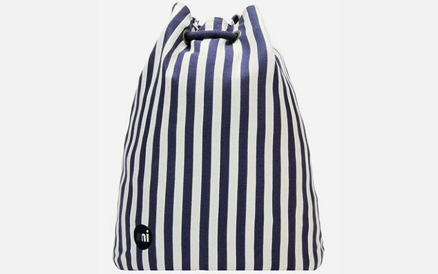 Swing Bag - Seaside Stripe Blue