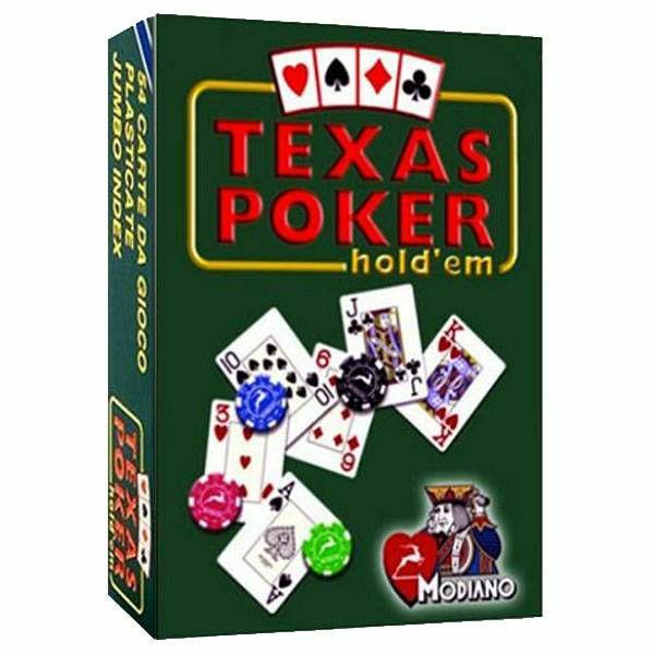 Texas Poker Blue Jumbo
